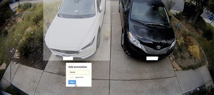 Use object recognition to make sure your car hasn't been stolen