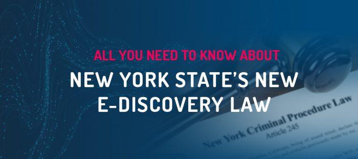 e-discovery law