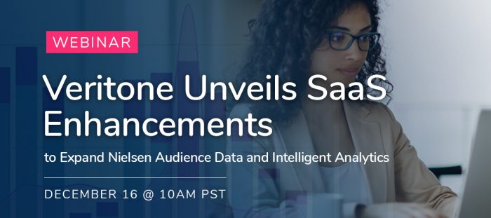Veritone Unveils SaaS Enhancements to Expand Nielsen Audience Data and Intelligent Analytics